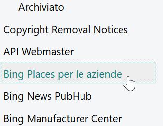 L'equipollente di Google Maps di Bing Webmaster