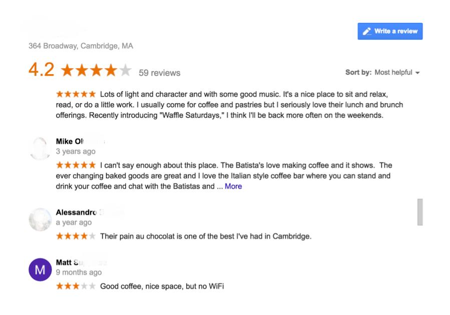 Local-SEO-Google-my-business-Lista-recensioni-positive-con-motivazione
